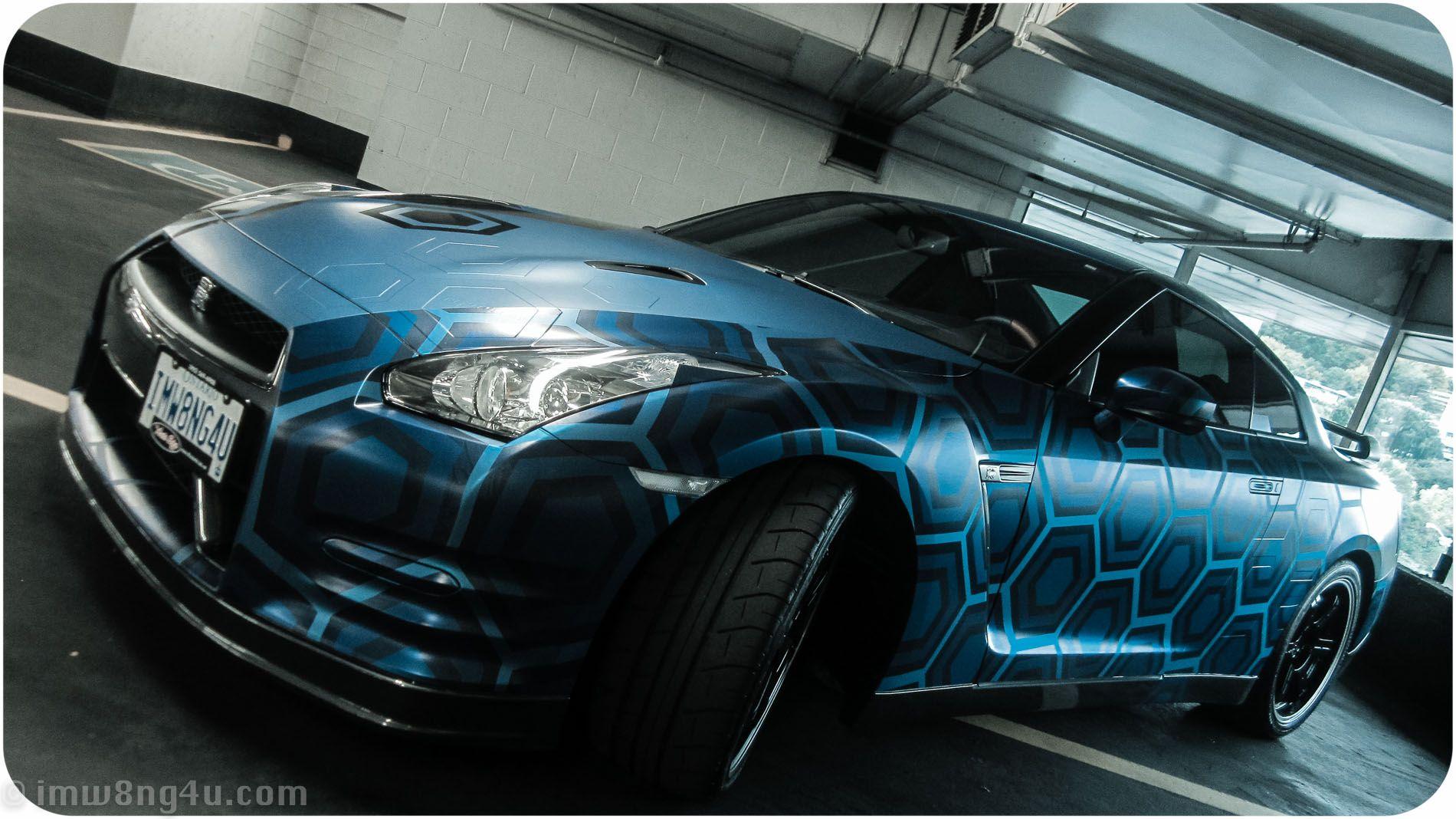 Car Wraps 3d Super Cars Nissan Gtr Car Wrap Design