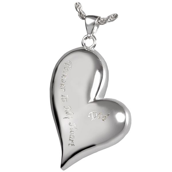 always with you cremation urn necklace heart cremation jewelry