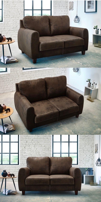 Canape Droit Fixe 2 Places Felicita Bobochic Canape Droit Canape Decoration Interieur Design