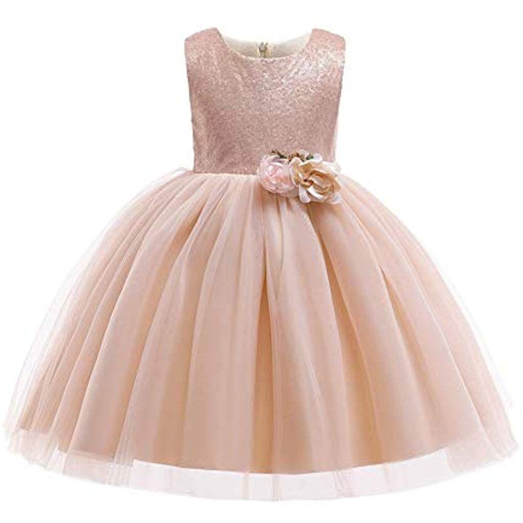 19b89f016783 Abito di sfera Vestito da principessa delle ragazze Vestito da bambino  senza maniche Tutu di tulle