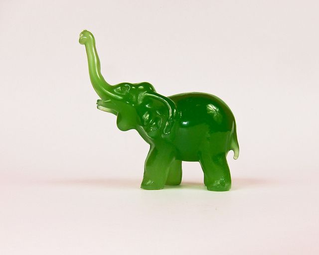 I received a Jade Elephant as a gift, but never truly knew its meaning until recently... I should re-thank the person who gave it to me... (photo by Jason Yung)