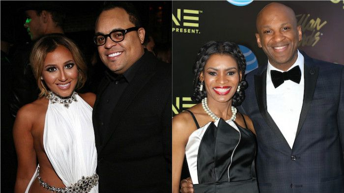 Israel Houghton And Adrienne Bailon Donnie Mcclurkin And Nicole C
