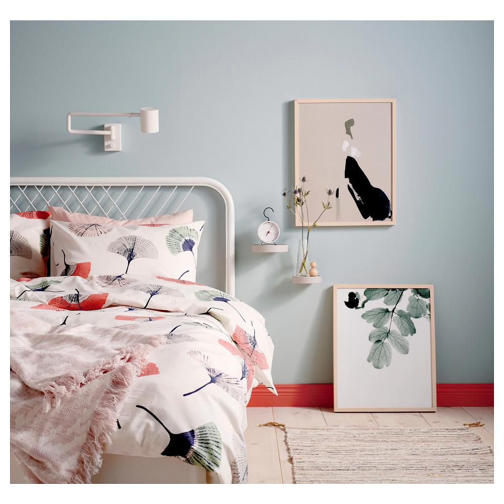 NESTTUN Bed frame, white, Luröy, Queen IKEA in 2020