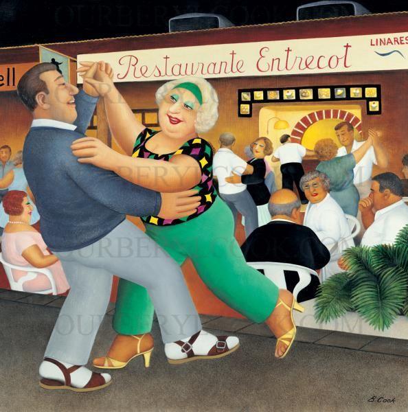 Line Dancing - Our Beryl CookOur Beryl Cook