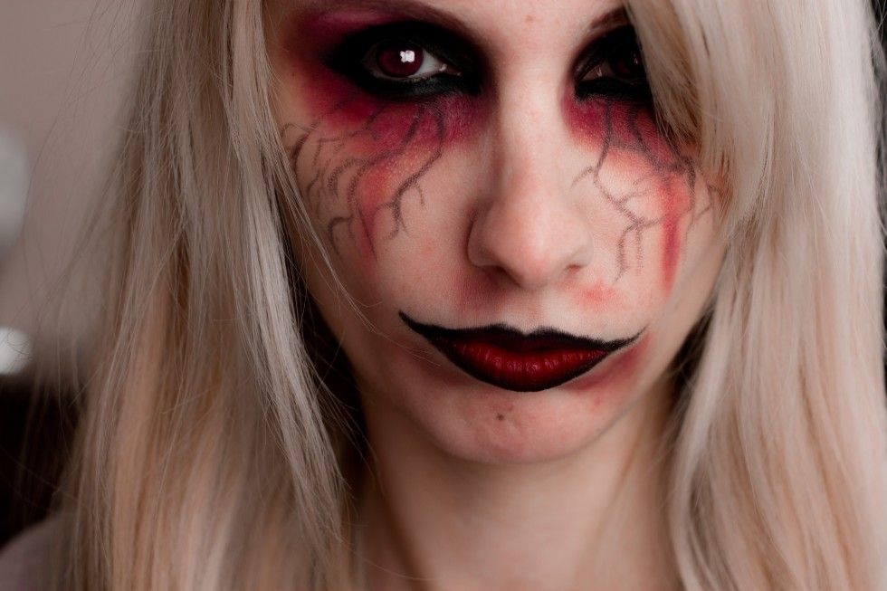 Halloween maquillage facile diy pinterest maquillage facile halloween et maquillage - Tuto maquillage halloween ...