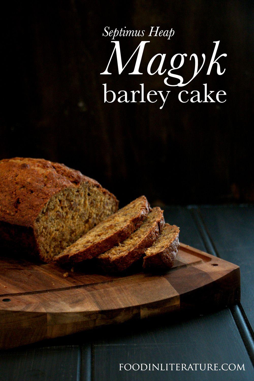 Barley Cake Magyk Septimus Heap Recipe Food, Barley