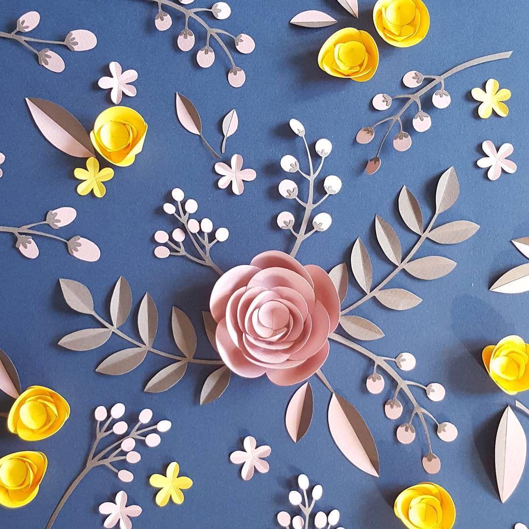 papercut #paperflowers #magalifournier