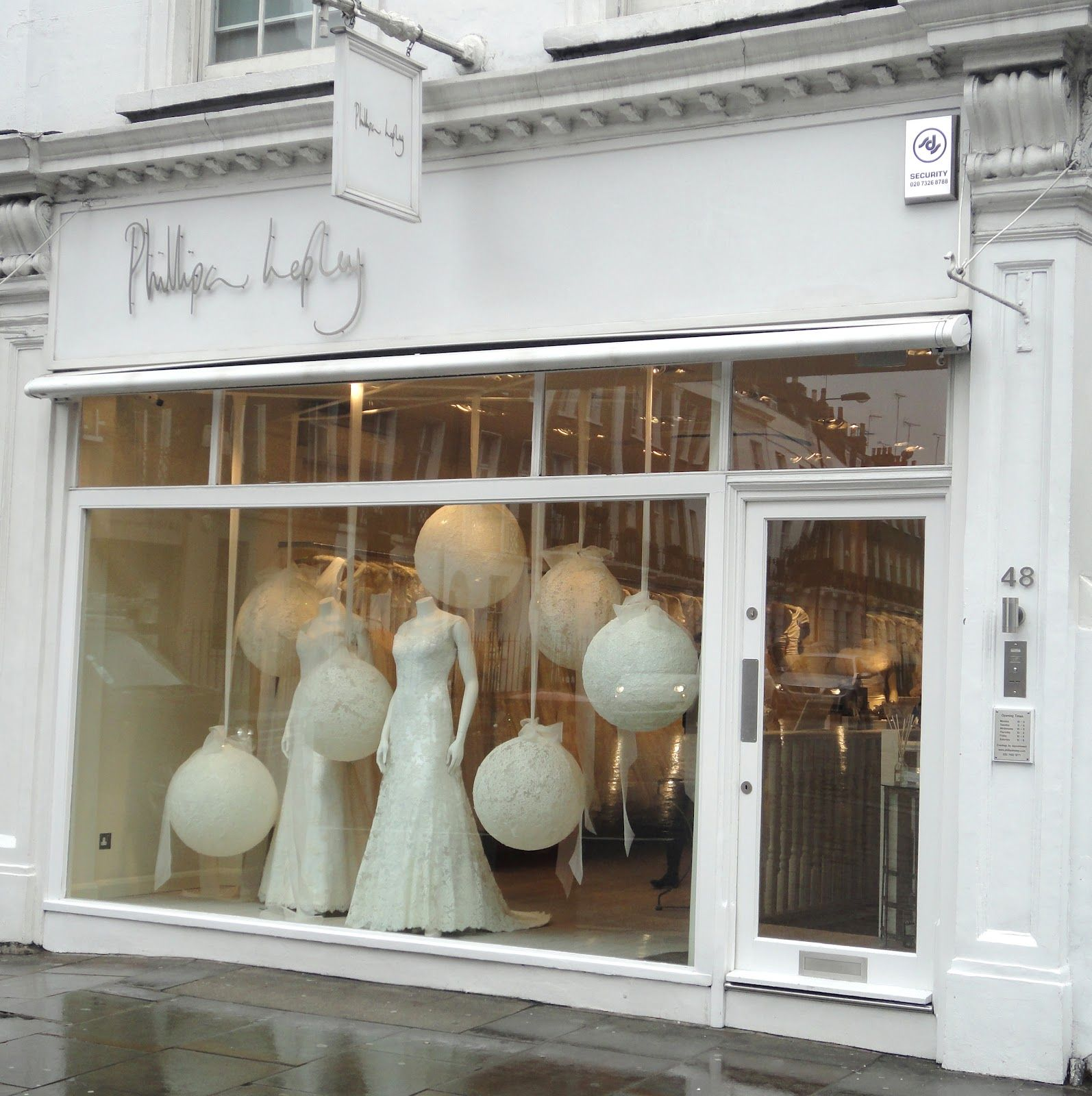 Be Wholehearted: Bridal Visual Merchandising in London ...