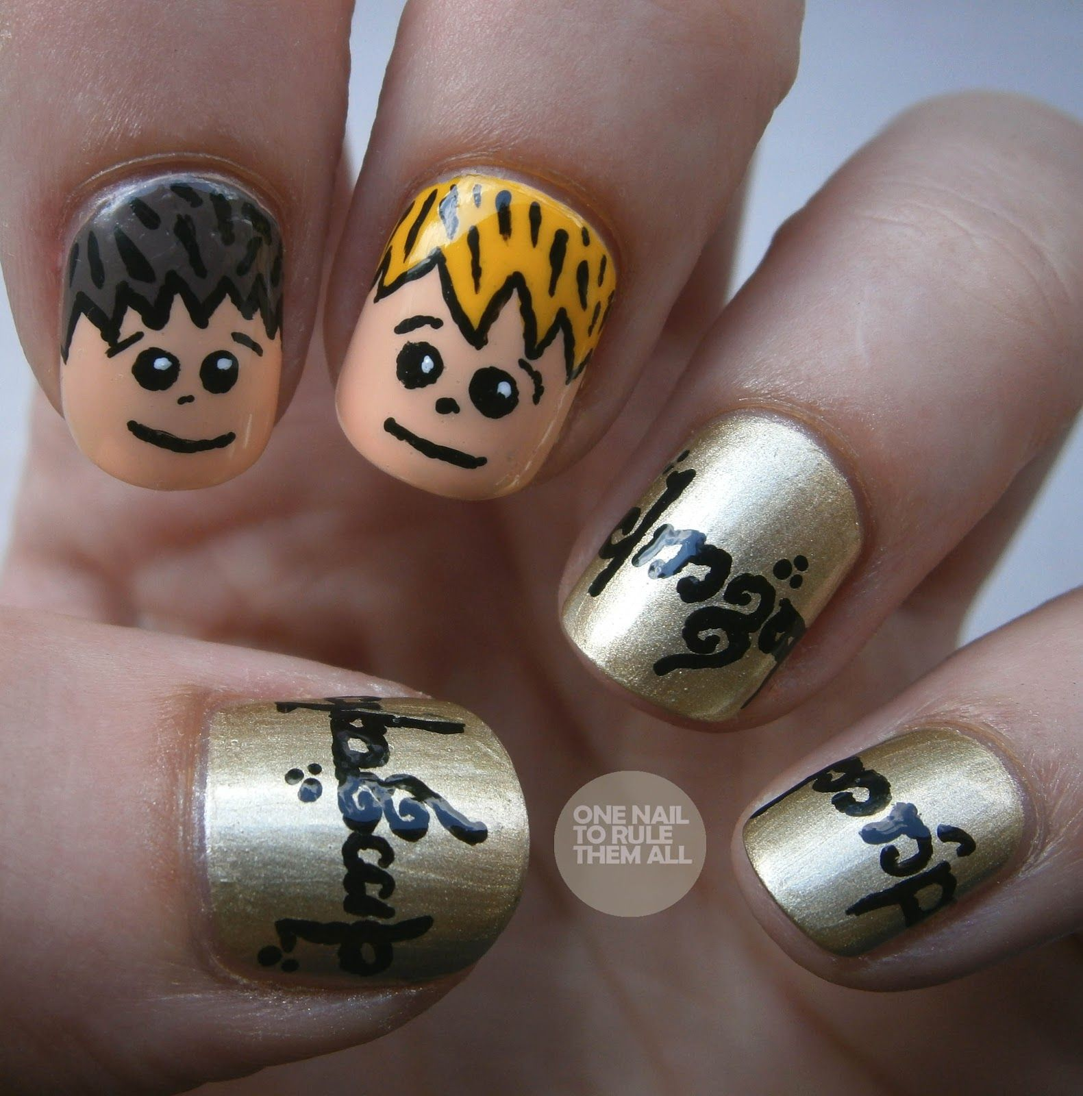 One Nail To Rule Them All: lord of the rings | Nail Art: POP Culture ...