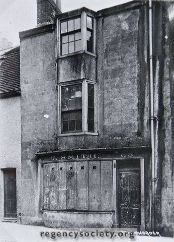 63, 64, 65, 66, JOHN STREET. Slum houses condemned and boarded up, March 21st 1912. Those shown above were renovated and reconstructed to be used as mens hostel, but 65 and 66 were demolished and later rebuilt as a womens hostel.