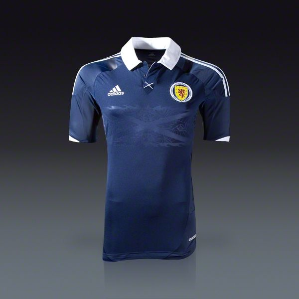 Adidas Scotland Authentic Home Jersey 11 13 Soccer Jersey Soccer Balls Soccer Cleats