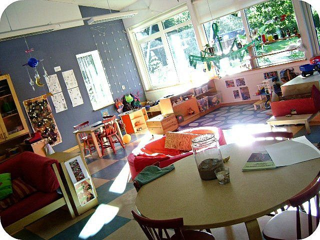 A bright and beautiful classroom