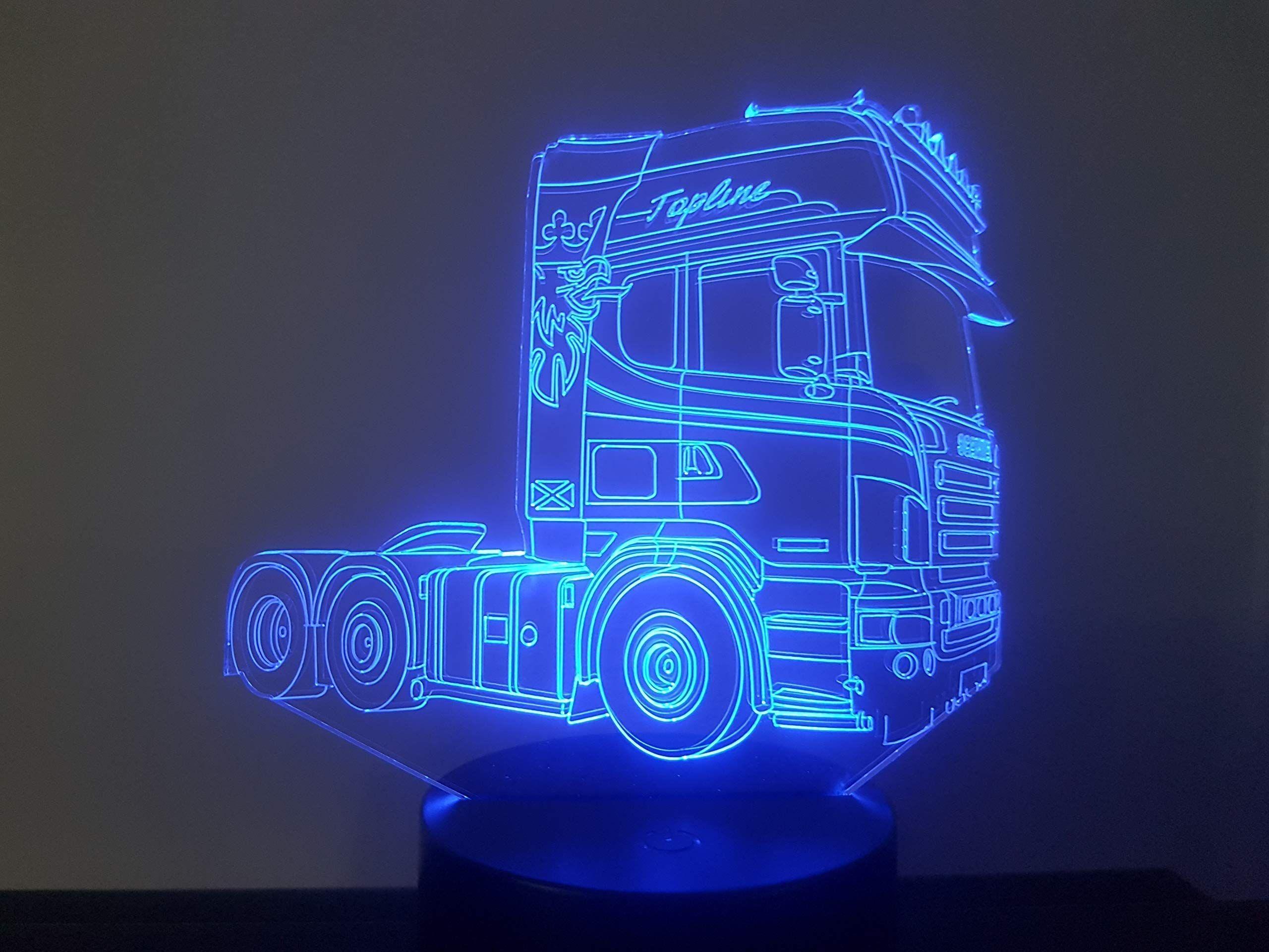 Lkw Scania 2 3d Lampe Led Scania Lkw Led Lampe Led Lampe Led Lampen