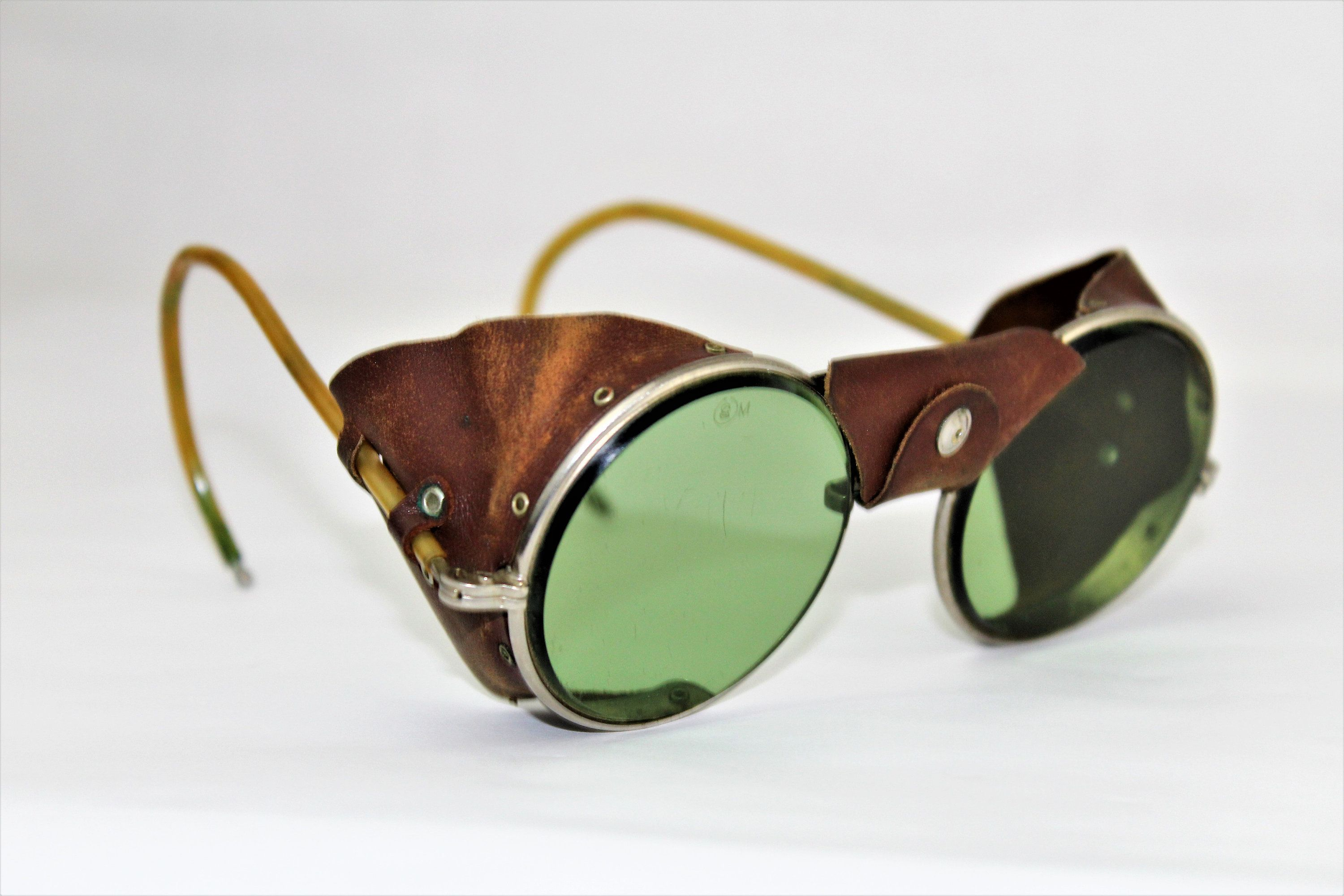 Antique Pair of American Optical Aviator / Motorcycle