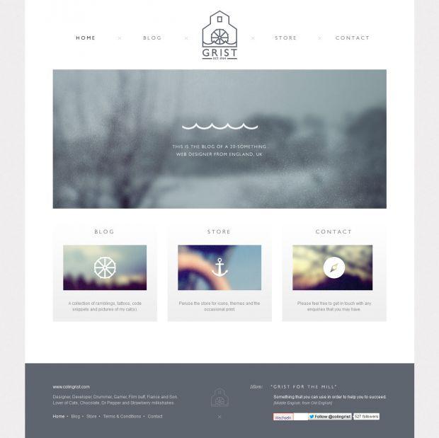 Colin Grist Website Designer Developer And General Rambler Webdesign Inspiration Www Niceoneilike Com Webdesign Inspiration Web Design Webdesign