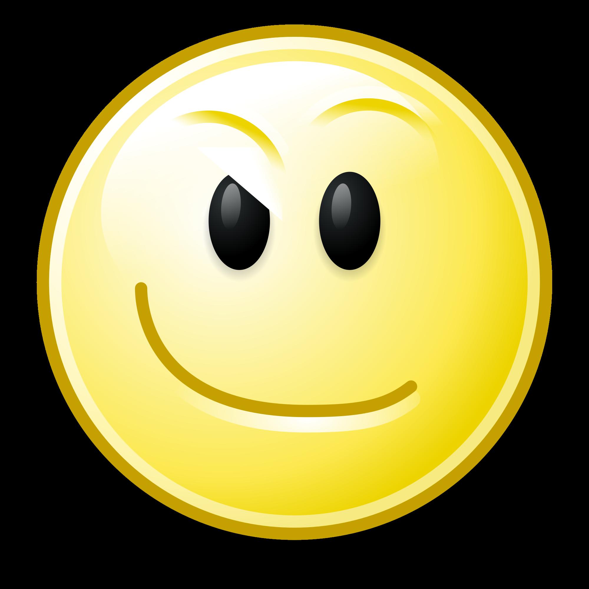 Smirk smiley