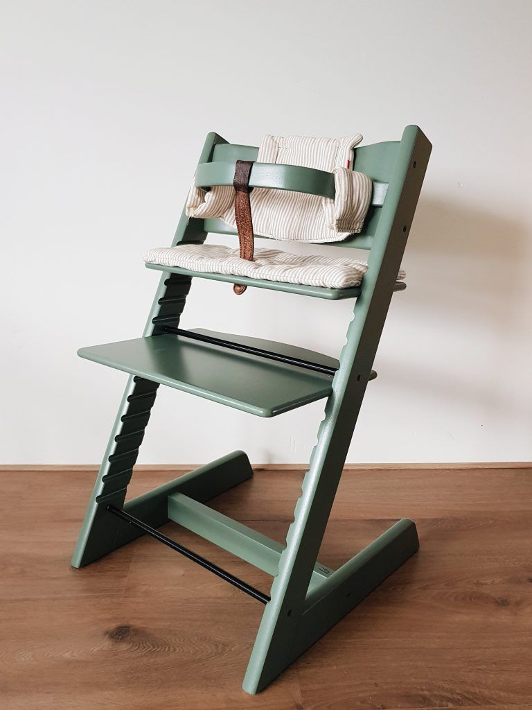 How To Refurbish A Tripp Trapp Baby Chair Eat Your Daily Greens Baby Chair Stokke High Chair Hand Painted Chairs