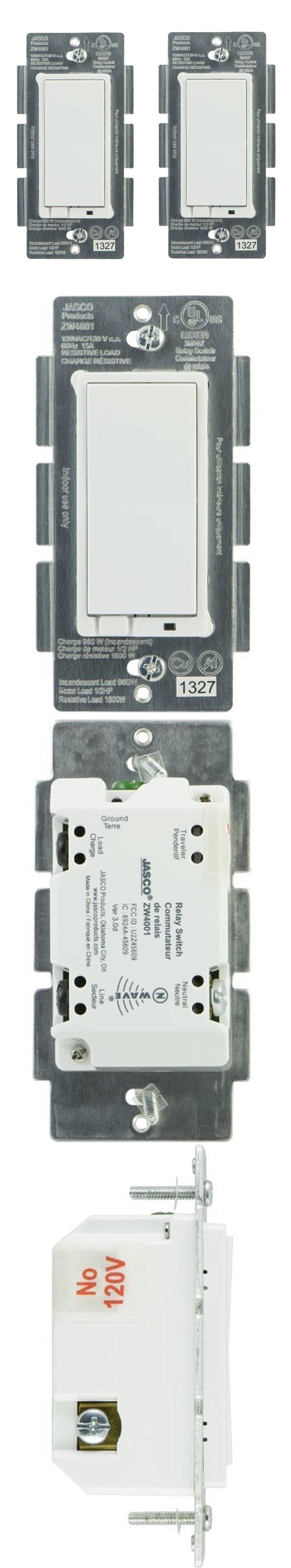 Other Electrical Switches 20597 Ge Jasco 14318 ZWave Wireless - Jasco Relay Switch