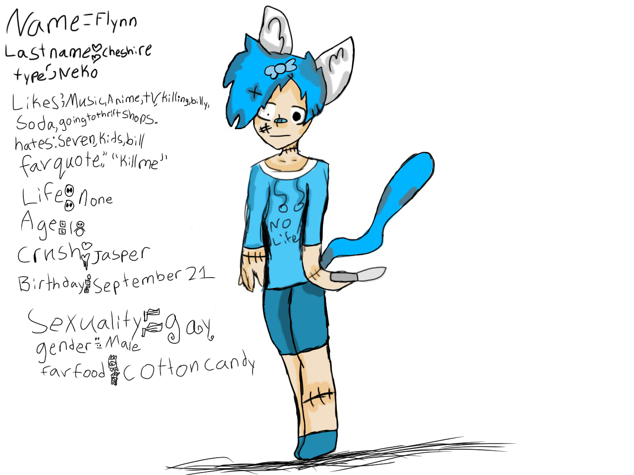 (Fixed up Flynn) ok this was a old character ash I fixed this old character of mine and actually made it decent.