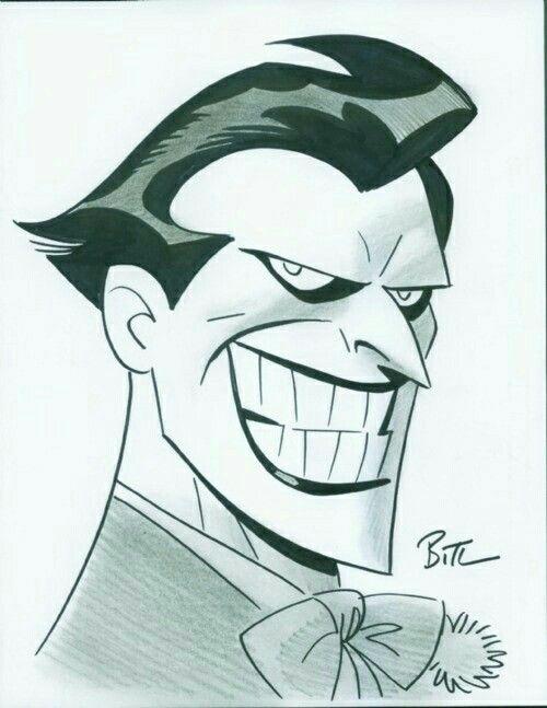 Joker Dibujo A Lapiz Dibujos De Joker Joker Animado Batman Dibujo
