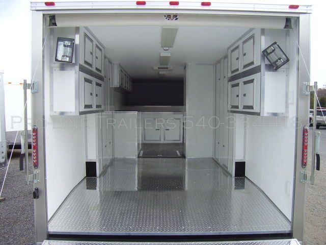 Workstation Trailers Enclosed Pro Line Trailers High Quality Trailers Custom Trailers Workstation Enclosed Trailers