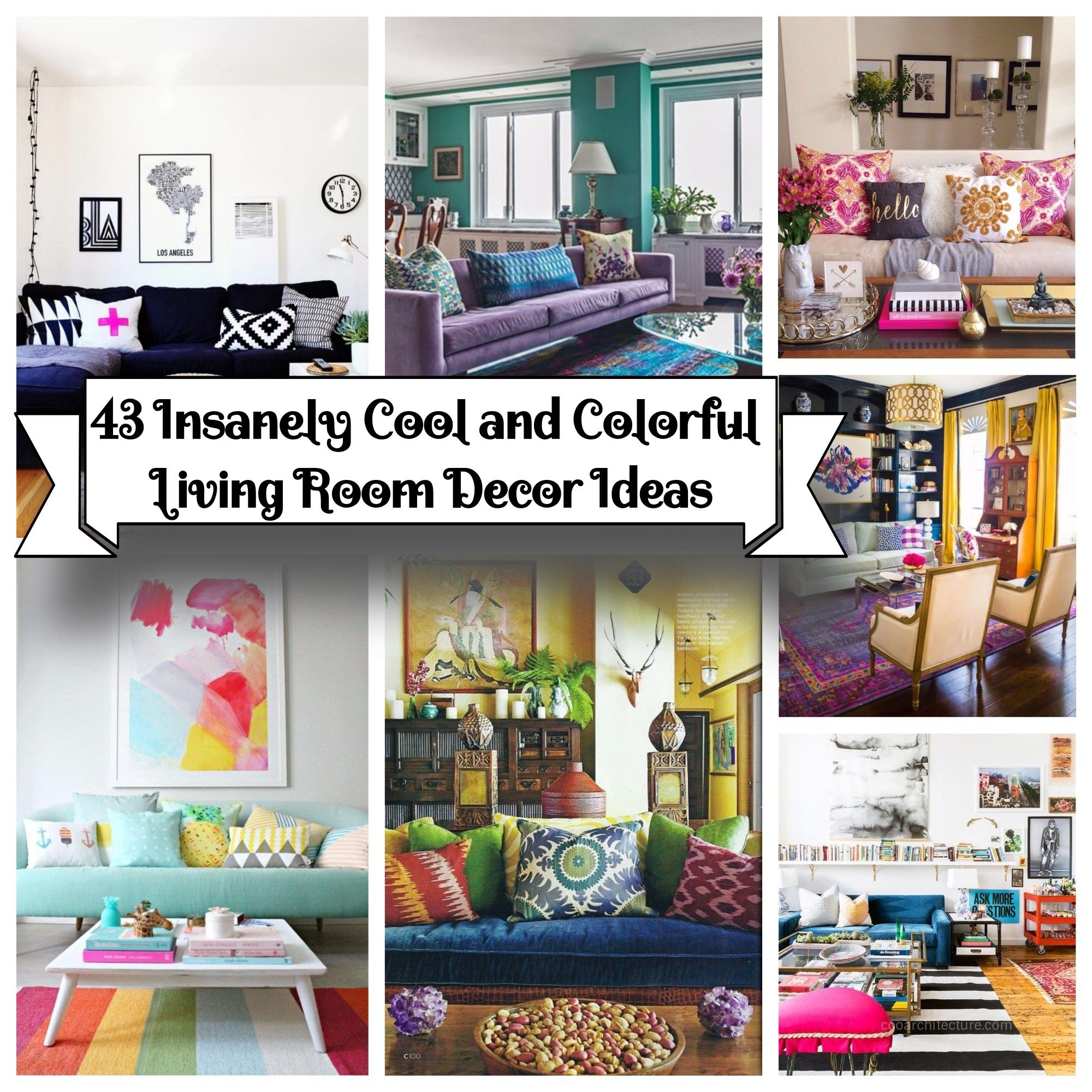 Decorating with color can be scary things to do there are so many