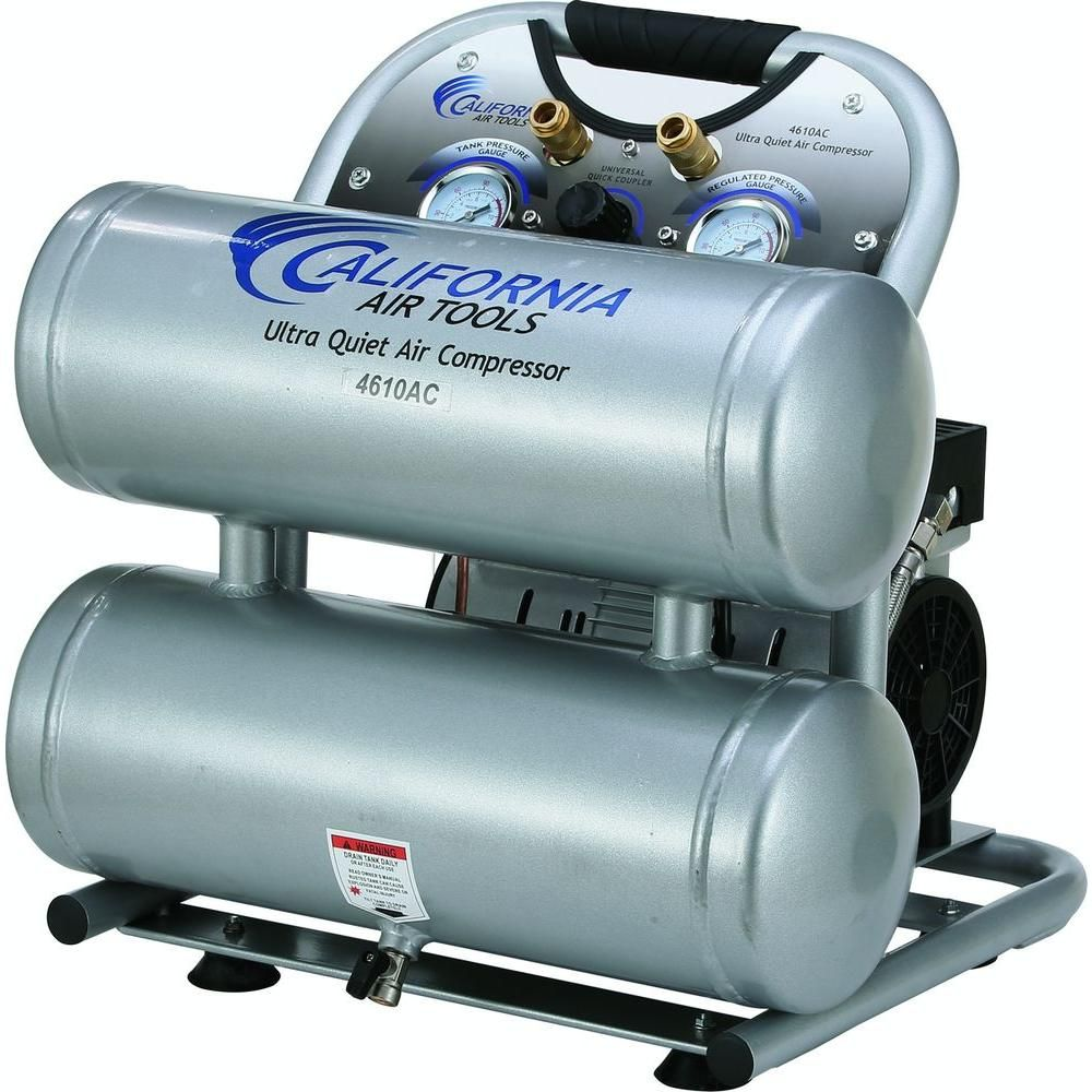 California Air Tools 4610AC Ultra Quiet and OilFree 1.0
