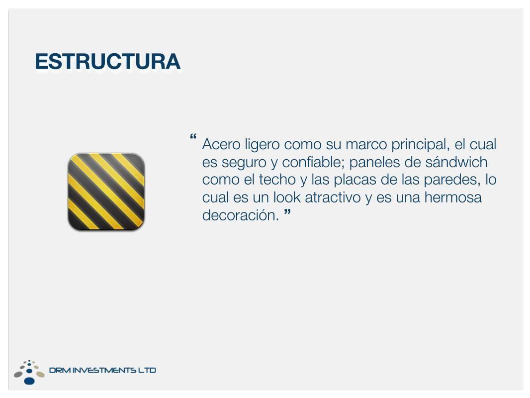 ACERO Acero ligero como su marco principal, el cual es seguro y ...