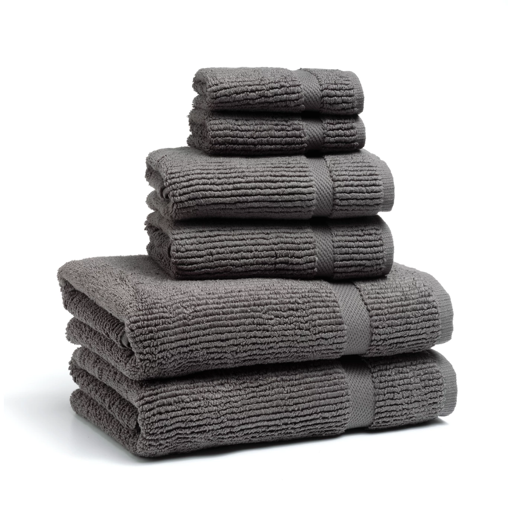 Mateo Ribbed Towels #handtowels