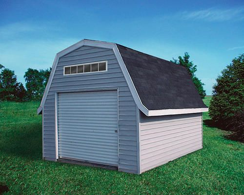 My Garage 12 X 20 Gambrel Ez Build At Menards Not So Easy To Build For Everyone Gambrel Built In Storage Shed