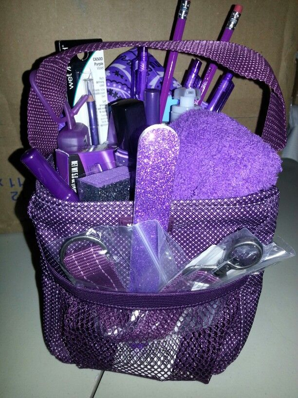 A 31 Littles Carry All Purple Basket For My Sis In Law