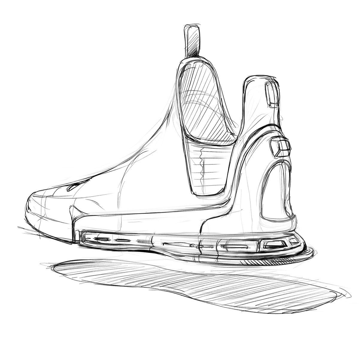 Some doodles on Behance | Shoe design