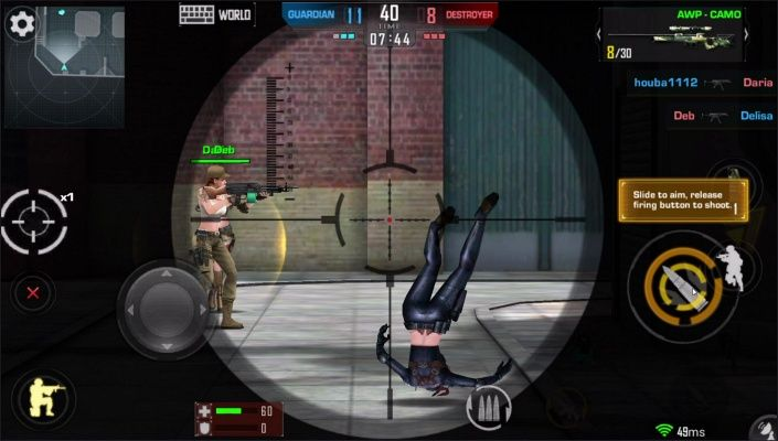 The Killbox Arena Combat is a Free Android FPS action