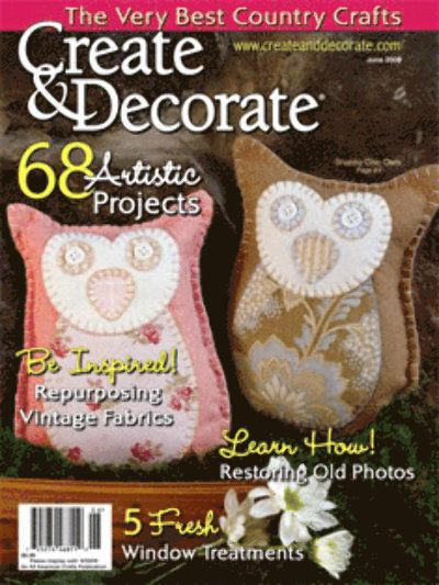 Create Decorate Magazine Things I Like Heart Patterns Happy