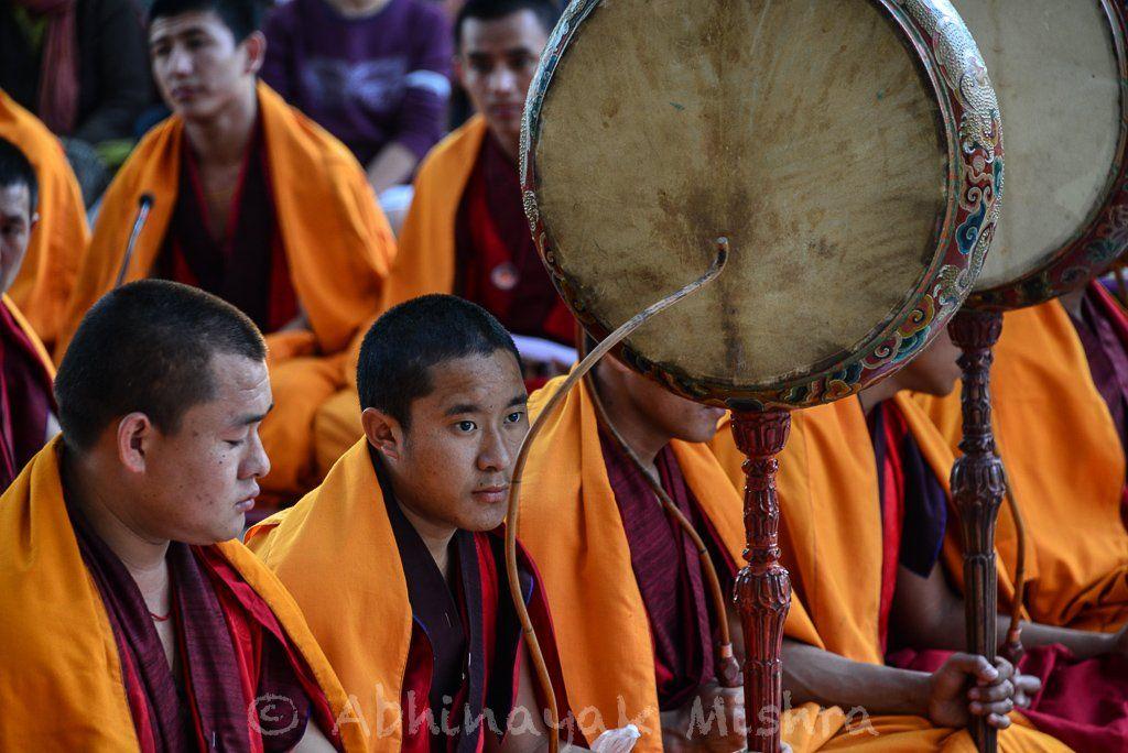 Monks at Bodh Gaya, India! Bodh gaya, Gaya, India