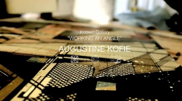 Augustine Kofie: Working An Angle @ Known Gallery Los Angeles