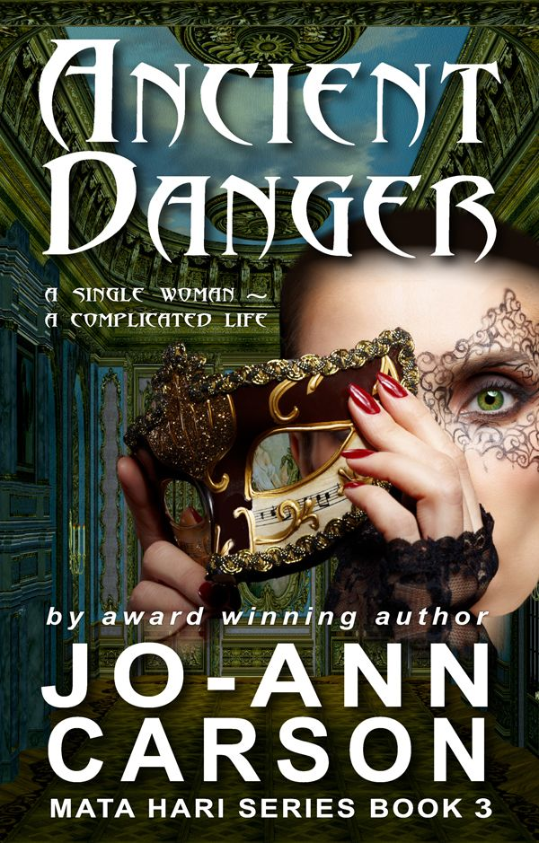 Ancient Danger ~ Cover Design Nina French ~ www.indtale.com