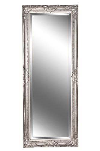Spiegel Wandspiegel Louisa Barock Antik Silber 150 X 60 Cm Amazon De Kuche Haushalt Spiegel Spiegel Silber Barock Spiegel