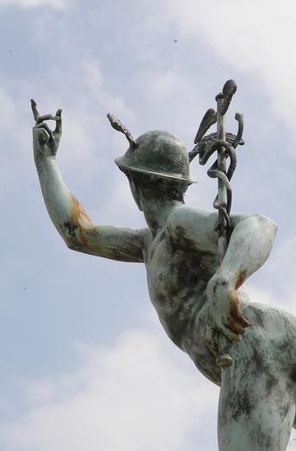 "statue of ""Hermes Trismegistus"" - Freemasonary Memorial at ..."