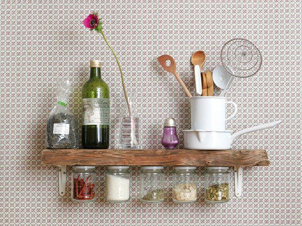 Küchendeko - die schönsten DIY-Ideen Küche diy, Küchenuhren und - dekoration k che selber machen