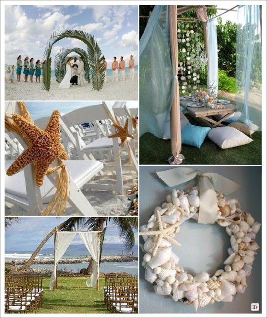 Decoration mariage mer salle exterieur weddinnnggg Decoration table mer