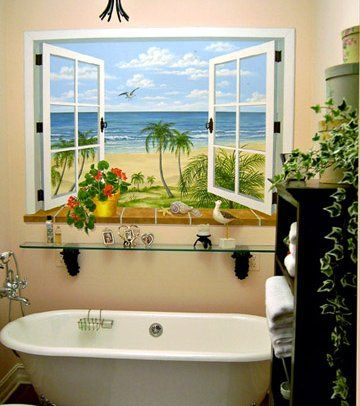 wall murals - Hand Painted Murals for your home Decorating ...