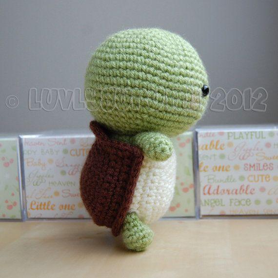 Turtle Gurumi Crochet Pattern   Tortuga y Patrones