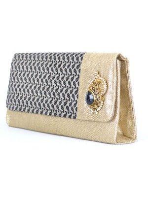Indian Bridal Crystal Evening Clutch Bag Prettystyle Uk