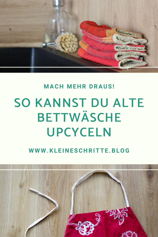 3 Upcycling-Ideen für alte Bettwäsche