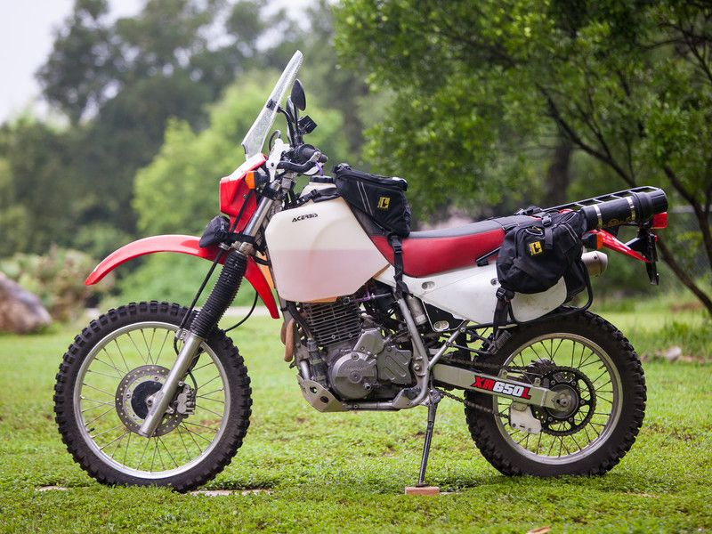 Honda XR650L Dual sport motorcycle, Adventure