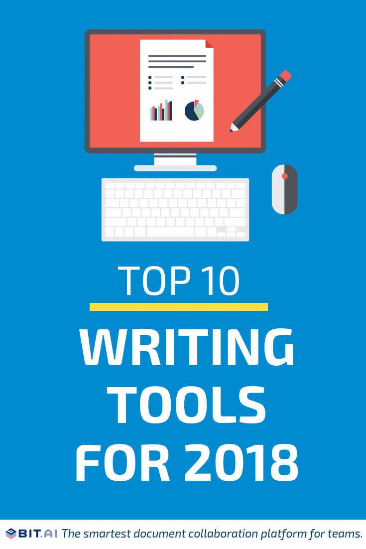 Top 10 ✍️ Writing Tools for 2018 @Grammarly #writing