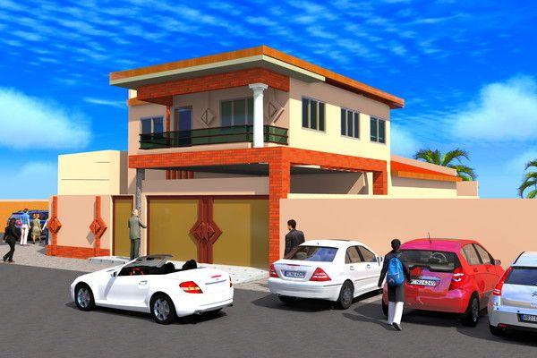 Architecture Page 13 Construction Villa Mali
