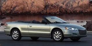 Like My 8th Car 2005 Chrysler Sebring Convertible Sebring
