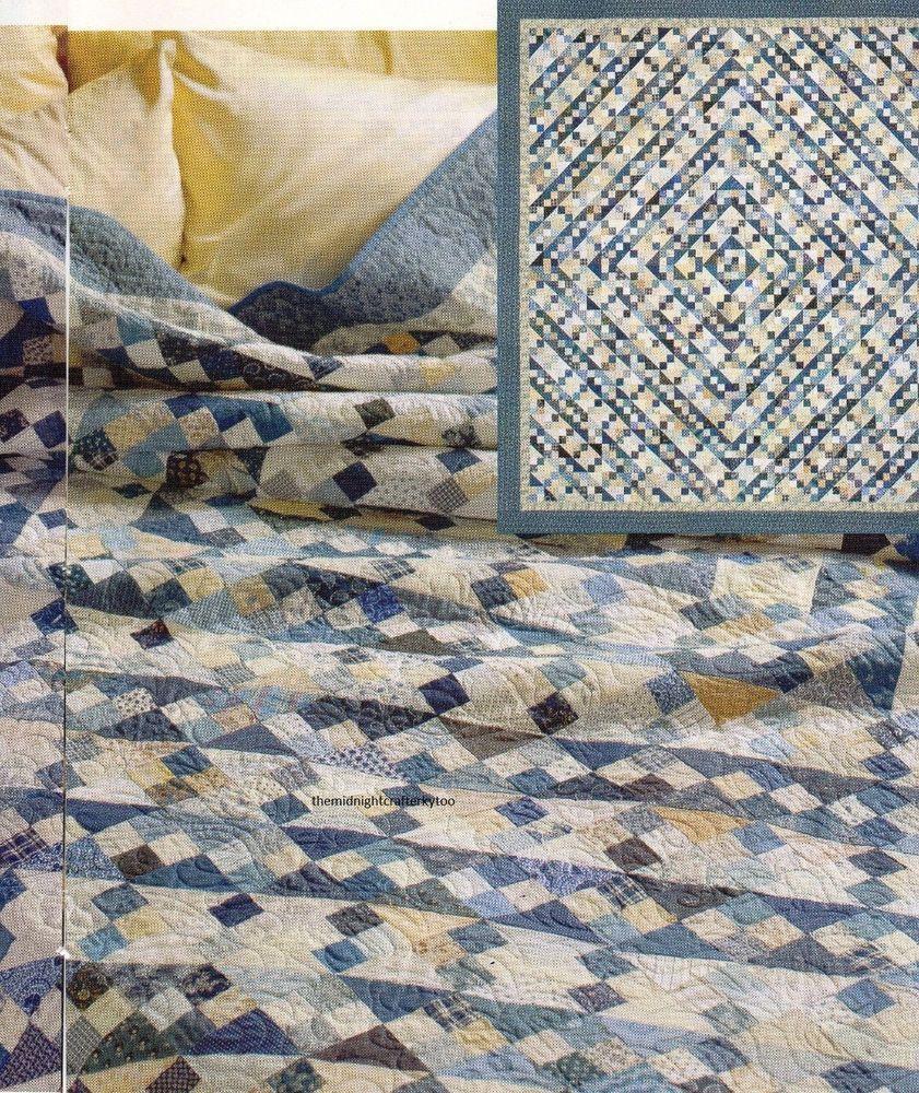 Blue Ridge Beauty Quilt Pattern Pieced BH | Blue quilts, Patterns ...